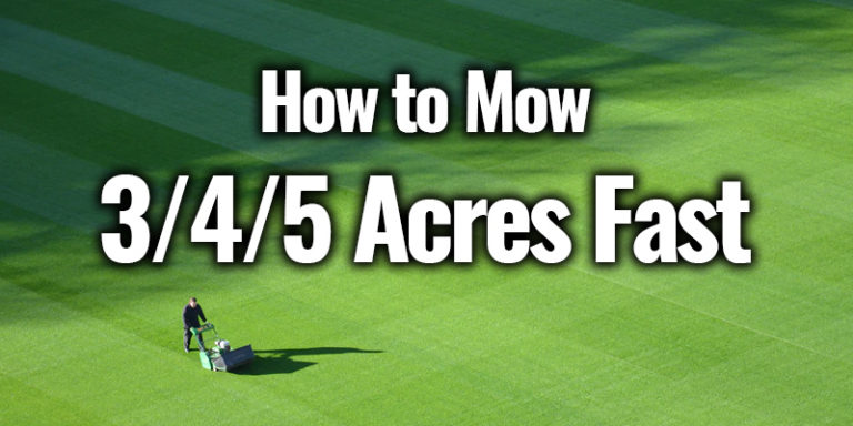 9 Best Lawn Mowers For 5 Acres Buyer S Guide Amp Reviews